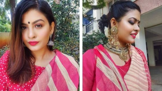 Traditional Saree With A Twist (1)
